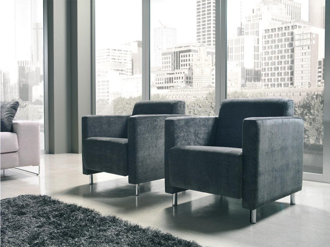 Modernūs minkšti svetainės baldai krėsliukas Vina