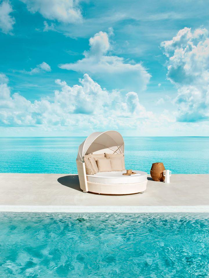 Modernios klasikos lauko lova Romantic 6