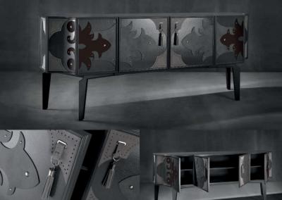 Modernios klasikos prieškambario baldai Valentina