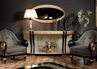 Modernios klasikos prieškambario baldai Mod. 4069_2