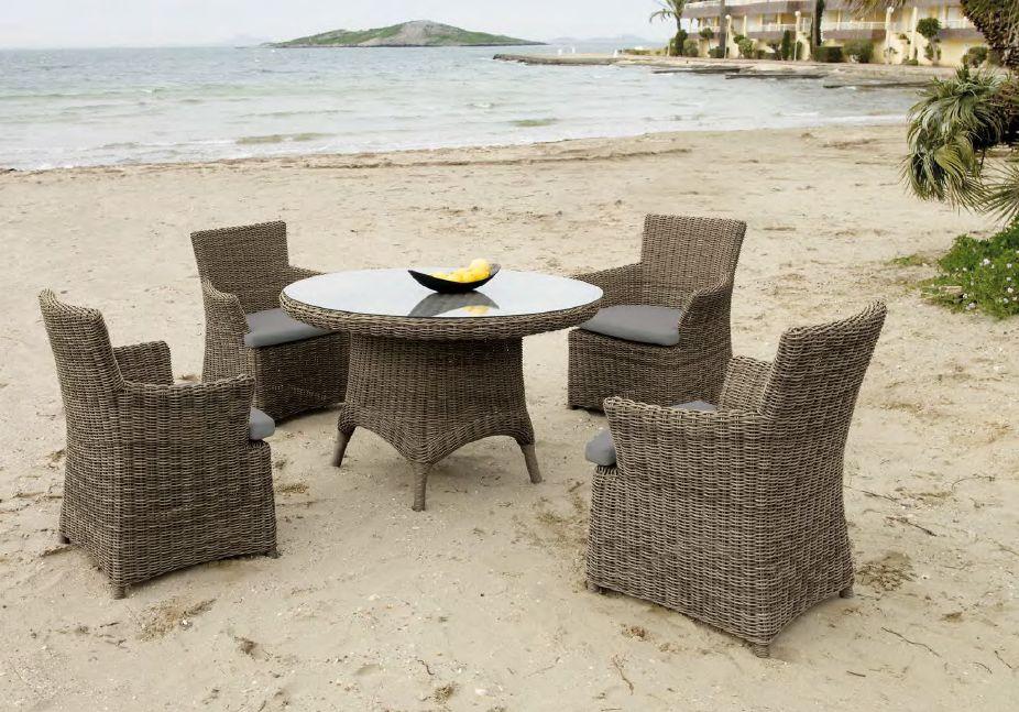 Klasikiniai lauko baldai krėsliukas stalas Riviera 4