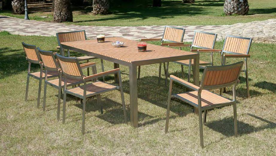 Modernūs lauko baldai Agaida