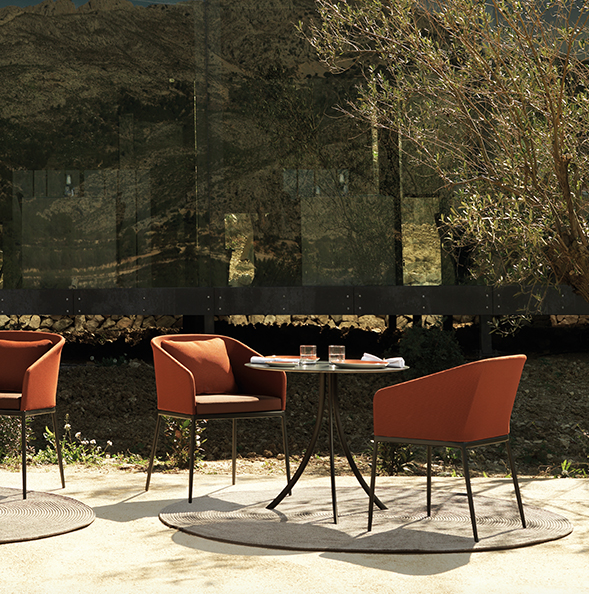 Modernūs lauko baldai Bistro Outdoor 1