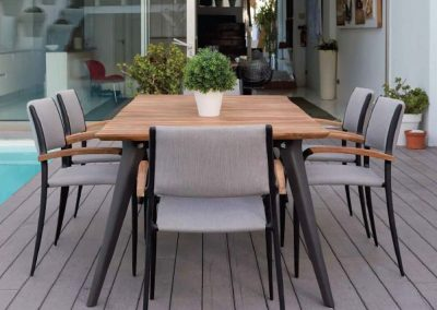 Modernūs lauko baldai Calcuta 2