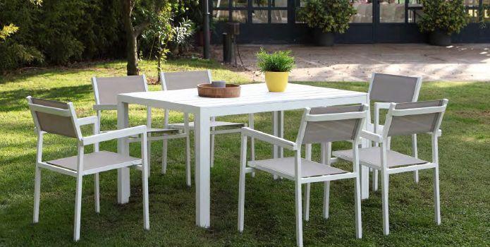 Modernūs lauko baldai Calpe 1