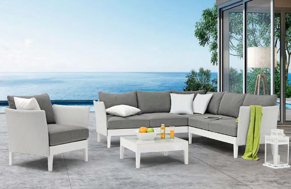 Modernūs lauko baldai Capri