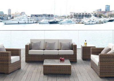 Modernūs lauko baldai Dakar