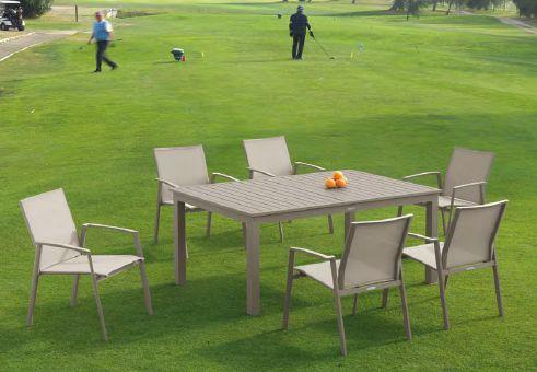 Modernūs lauko baldai Faro