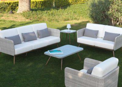 Modernūs lauko baldai Inca 1