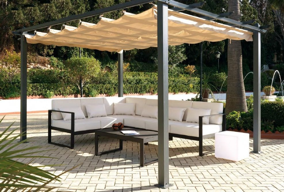 Modernūs lauko baldai Marbella