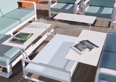 Modernūs lauko baldai Miami 2