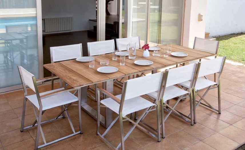 Modernūs lauko baldai Milano