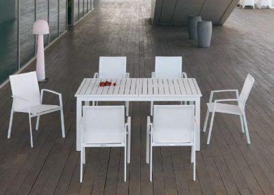Modernūs lauko baldai Nerja 2