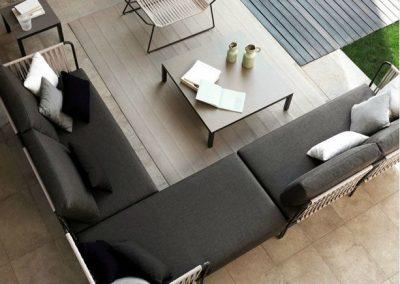 Modernūs lauko baldai Nido 1