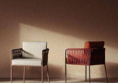 Modernūs lauko baldai Nido 17
