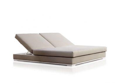 Modernūs lauko baldai gultas Slim_tumbona 1