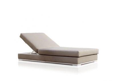 Modernūs lauko baldai gultas Slim_tumbona