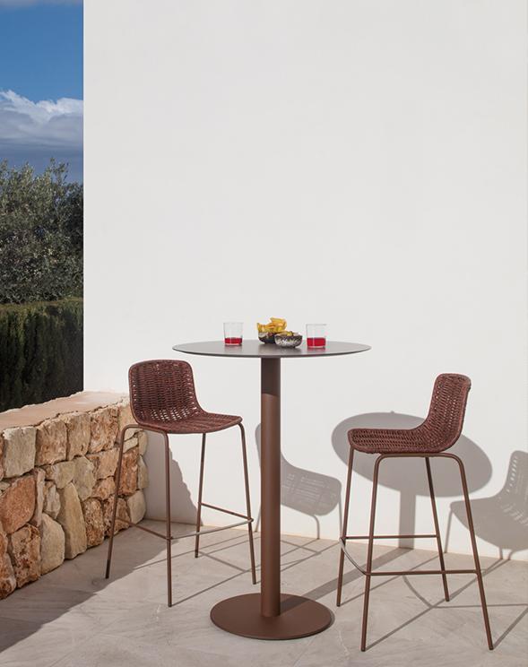 Modernūs lauko baldai kėdė Lapala 4