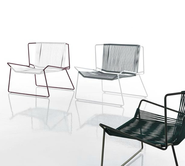 Modernūs lauko baldai kėdė Out Line 1