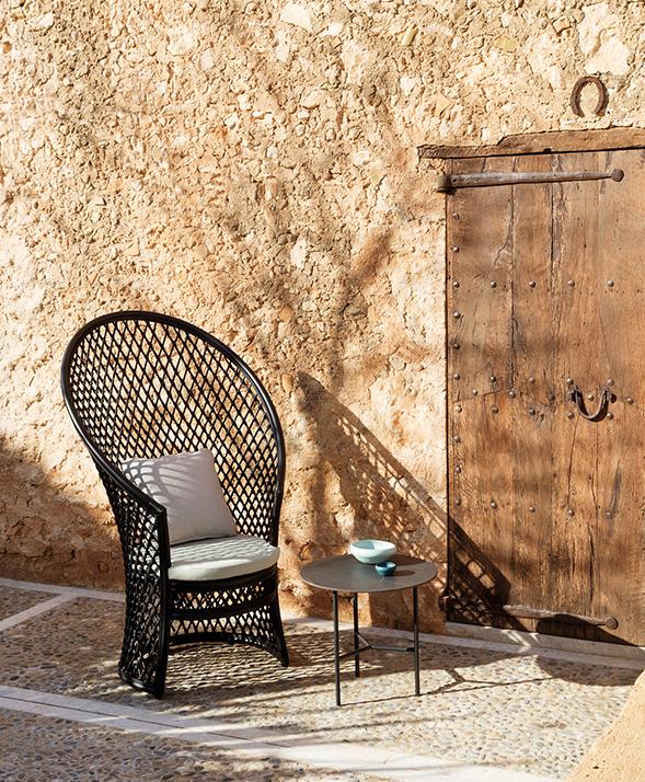 Modernūs lauko baldai krėslas Copa