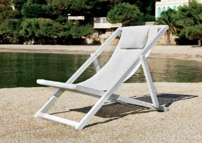 Modernūs lauko baldai krėsliukas Libec