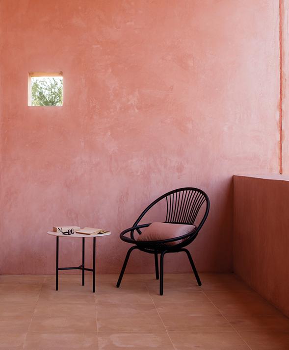 Modernūs lauko baldai krėsliukas Radial