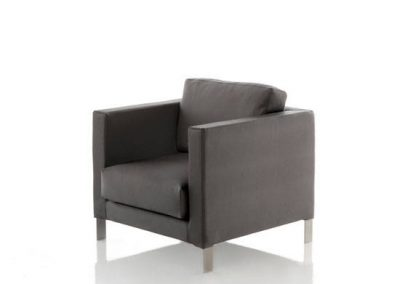 Modernūs lauko baldai krėsliukas Slim_sillon