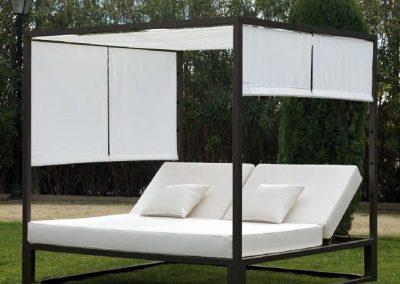 Modernūs lauko baldai lova Marbella 4