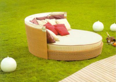 Modernūs lauko baldai lova Ruedo 3
