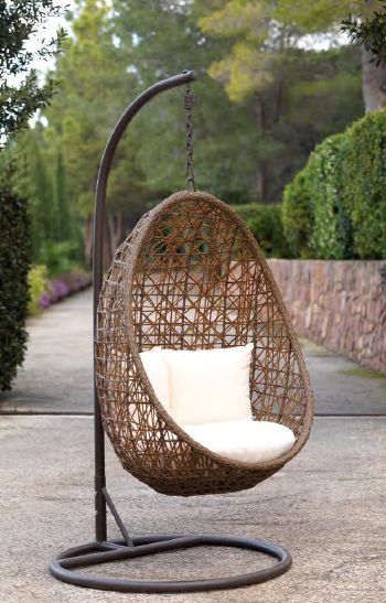 Modernūs lauko baldai pakabinamas krėslas Belones 3