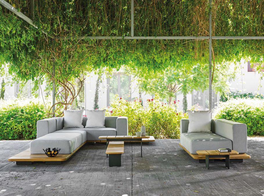 Modernūs lauko baldai sofa Pal 6