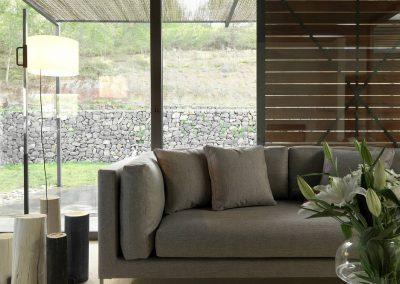 Modernūs lauko baldai sofa Slim 1