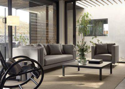 Modernūs lauko baldai sofa Slim 3