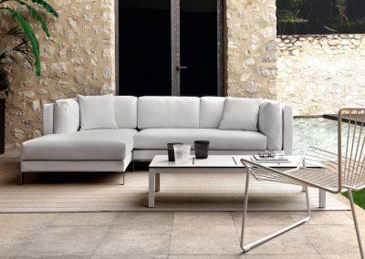 Modernūs lauko baldai sofa Slim 4