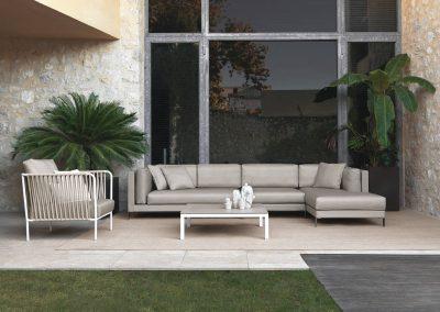 Modernūs lauko baldai sofa Slim 6