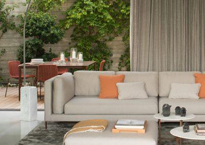 Modernūs lauko baldai sofa Slim 7