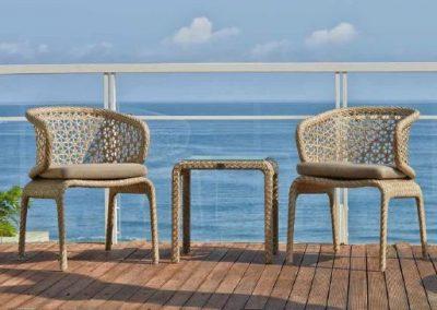 Modernios klasikos lauko baldai krėsliukai Journey 8