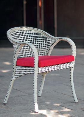 Modernios klasikos lauko baldai krėsliukas Havana 3