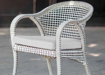 Modernios klasikos lauko baldai krėsliukas Havana 6