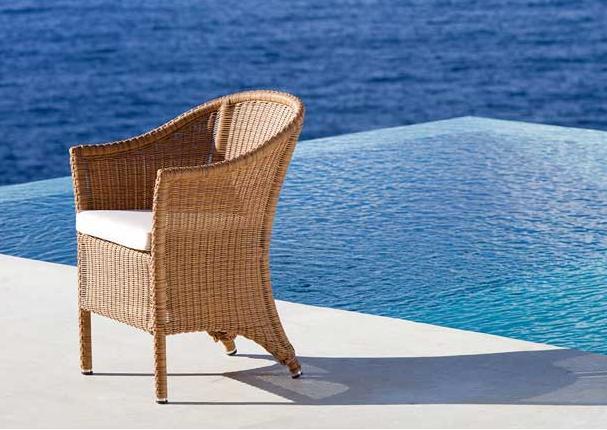Modernios klasikos lauko baldai krėsliukas Sagra 3