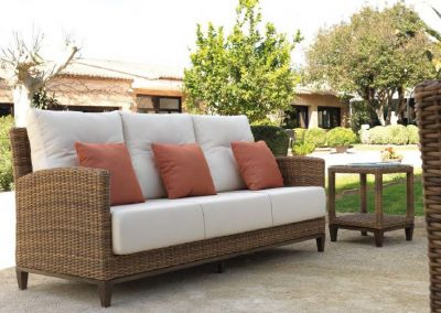 Modernios klasikos lauko baldai sofa Agadir 2