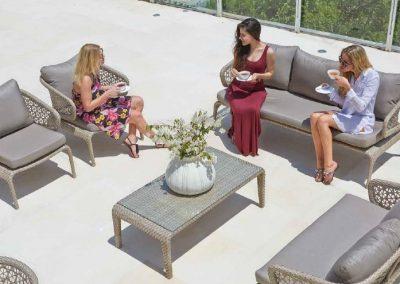 Modernios klasikos lauko baldai sofa Journey 2