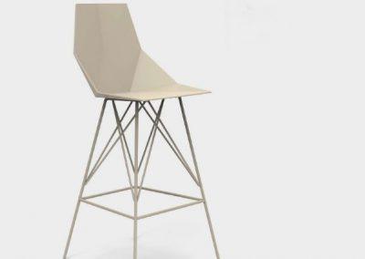 Modernūs lauko baldai baro kėdė Faz 37