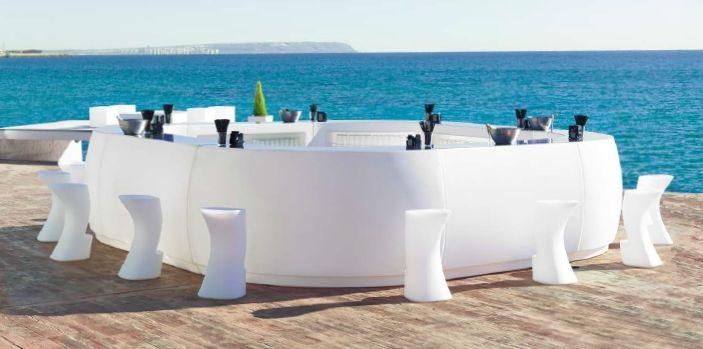 Modernūs lauko baldai baro modulis Fiesta 2