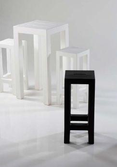 Modernūs lauko baldai baro stalas kėdė Jut 2