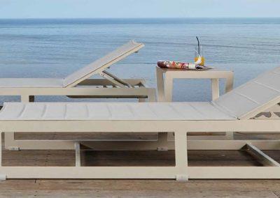 Modernūs lauko baldai gultas Rhone 5