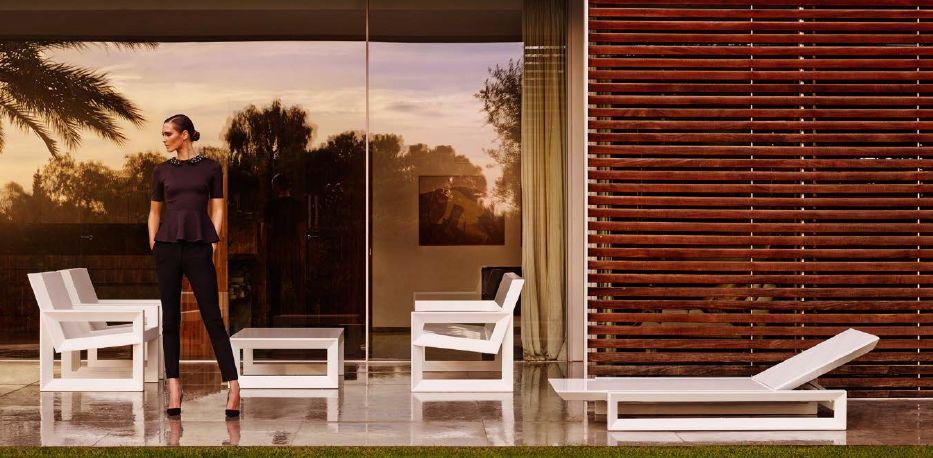 Modernūs lauko baldai gultas krėsliukai Frame 1