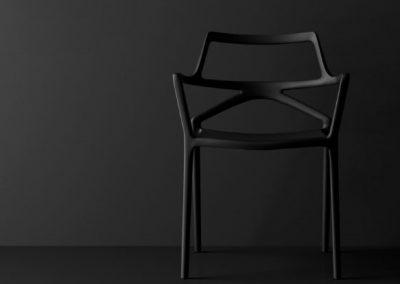 Modernūs lauko baldai kėdė Delta 10
