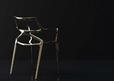 Modernūs lauko baldai kėdė Delta 13