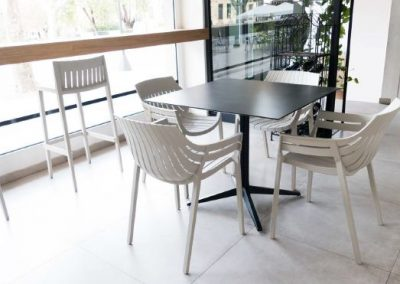 Modernūs lauko baldai kėdė Spritz 1